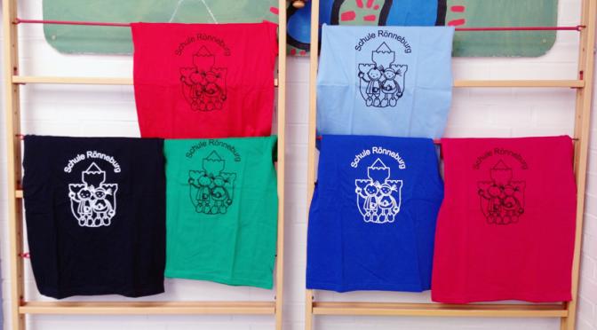 Textil-Bestellung mit Schul-Logo bis 21.11.16