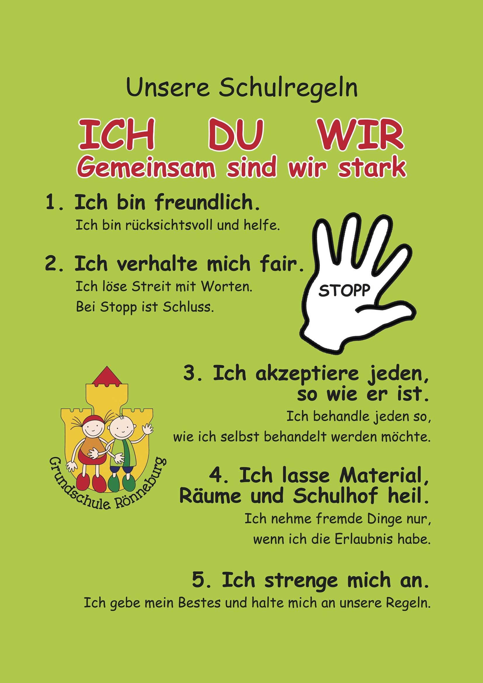 Unsere Schulregeln