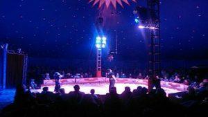Zirkus-Vorstellung