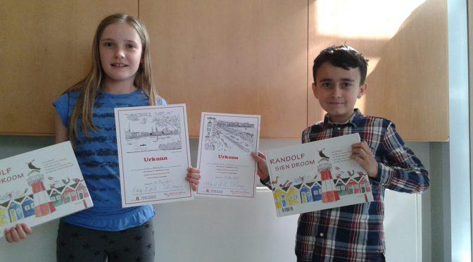 Sieger beim Plattdeutsch-Wettbewerb an der Schule Marmstorf