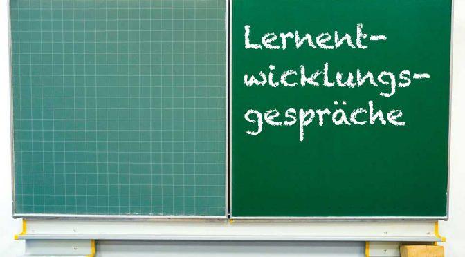 Lernentwicklungsgespräche am Freitag, 27.01.17